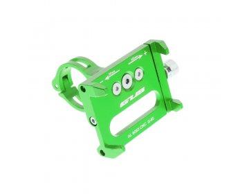 Uchwyt rowerowy na kierownice G85 Metal zielony
