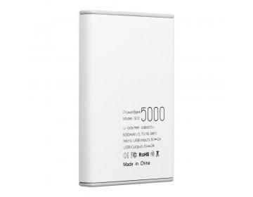 Bateria zewnętrzna POWER BANK PURIDEA S12 5000 mAh biały