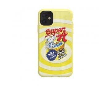 Futerał ADIDAS Originals Moulded Case BODEGA do iPhone 11 6.1 żółty