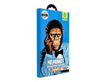 Szkło Hartowane 5D Mr. Monkey Glass iPhone 11 czarny Hot Bending