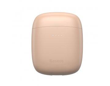 Baseus zestaw słuchawkowy/słuchawki bluetooth TWS Encok True W04 Pro różowe NGW04P-04