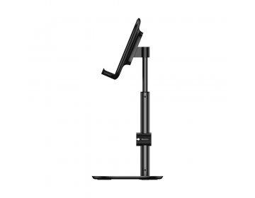 Baseus podstawka biurkowa na telefon telespokowa czarna SUWY-A01