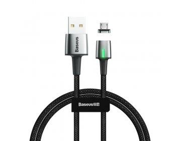 Baseus kabel USB magnetyczny ZINC micro 2,4A 1 metr czarny CAMXC-A01