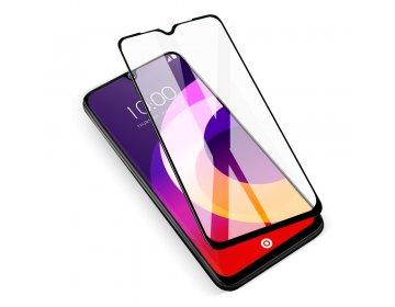 5D Full Glue Ceramic Glass do HUAWEI Y7p czarny