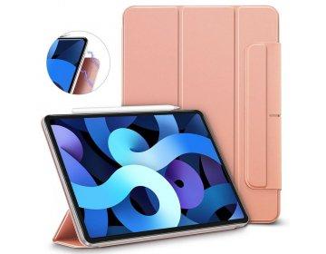 Futerał ESR Rebound Magnetic do iPad 4 2020 złoty różowy