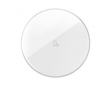 Baseus ładowarka indukcyjna Simple 15W srebrny WXJK-B02