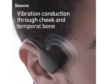 Baseus słuchawki bluetooth kostne COVO HC10 czarne NGBC10-01