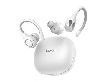 Baseus zestaw słuchawkowy/słuchawki bluetooth TWS Encok True W17 białe NGW17-02