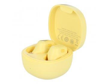 Baseus zestaw słuchawkowy/słuchawki bluetooth TWS Encok True WM01 żółty NGWM01-0Y