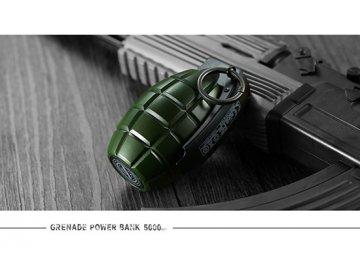 Remax power bank Grenade 5000mAh RPL-28 oliwkowy