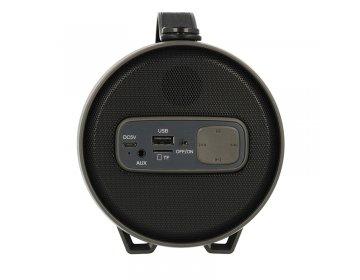 Głośnik Multimedialny bluetooth z Radiem TUBA TWS S22E czarny