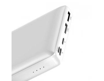 Baseus power bank 30000mAh mini JA Fast charge PPJAN-C02 biały