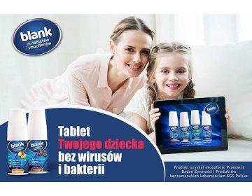 Blank Antybakteryjny płyn czyszczący tabletów i smartfonów zapach Women