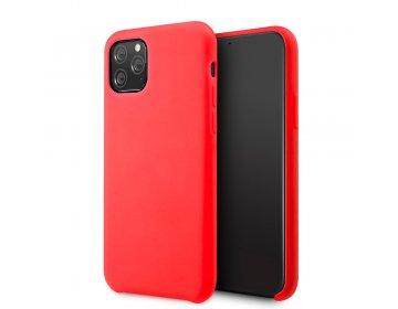 Etui Vennus Silicone Lite iPhone 12 mini czerwony