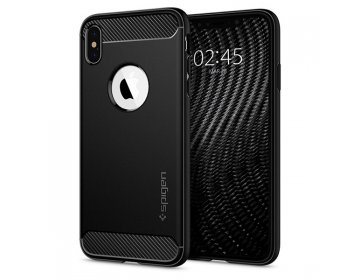 Etui SPIGEN Rugged Armor ACS01743 iPhone 12 mini Matte czarny